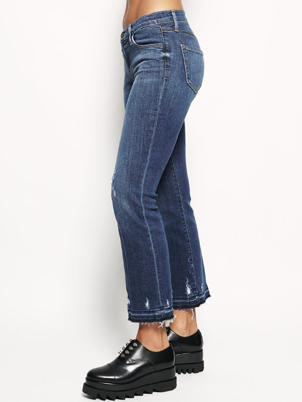 SELENA BOOTCUT MID-RISE SKINNY CROP Denim-Jeans-J BRAND-TRYME Shop