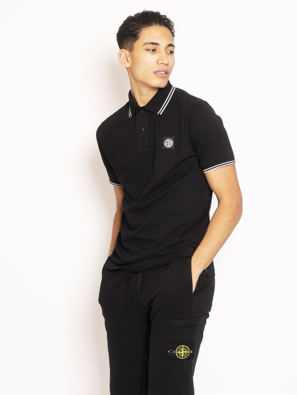 Polo Slim Fit Nero