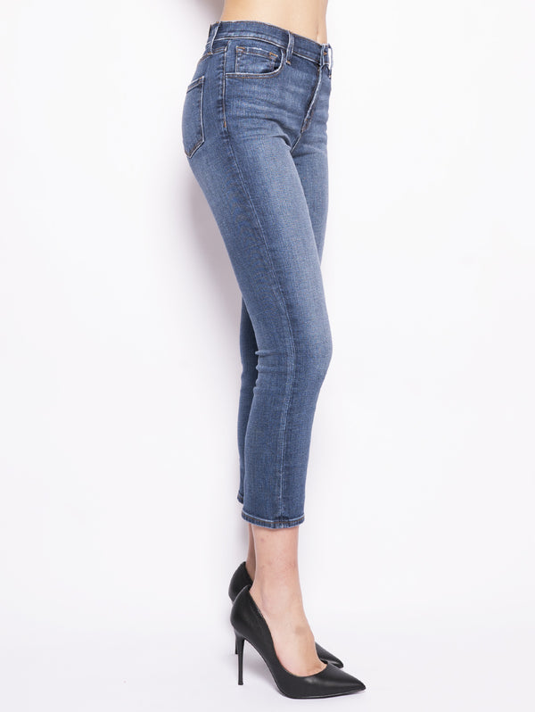 Ruby High Rise Crop Denim-Jeans-J BRAND-TRYME Shop