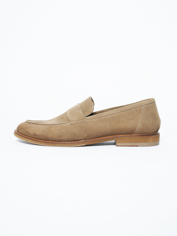 SEBOY'S-Mocassini in Suede Taupe-TRYME Shop