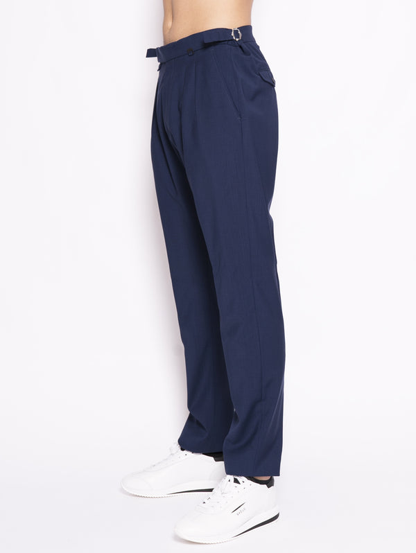 Trousers with Royal Adjustable Belt