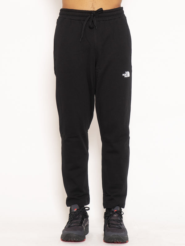 THE NORTH FACE-Pantaloni in Felpa di Cotone - Nero-TRYME Shop
