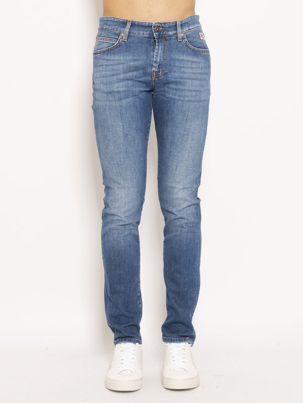 ROY ROGERS-Jeans 517 Denim Stretch Nick Blu-TRYME Shop