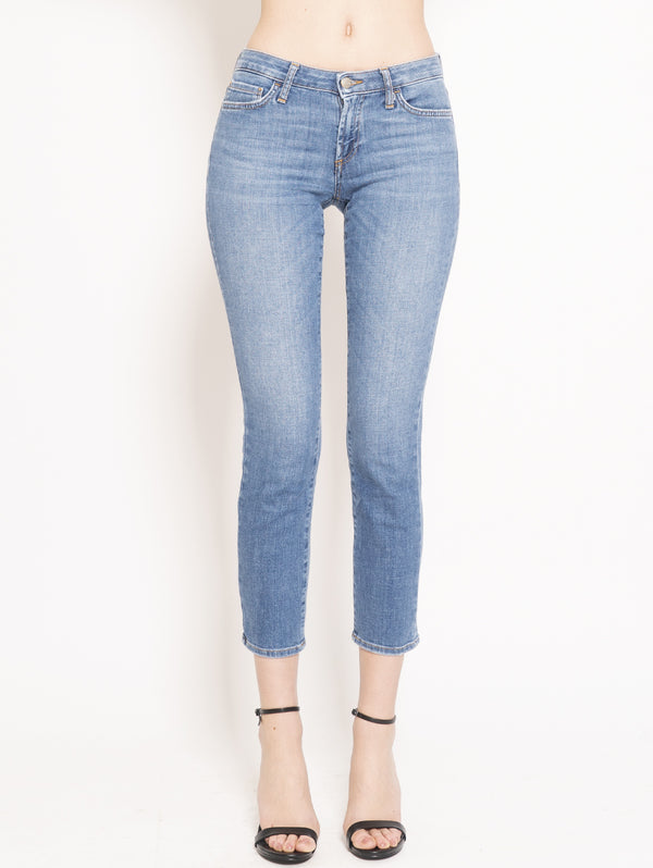 ROY ROGERS-Jeans Straight Flo Cut Stretch Noosa Blu-TRYME Shop