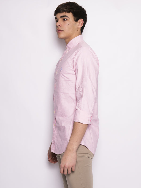 Camicia Oxford Slim-Fit Rosa-Camicie-RALPH LAUREN-TRYME Shop