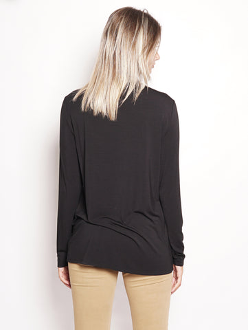 WOOLRICH W's Silk Jersey Shi Nero Trymeshop.it