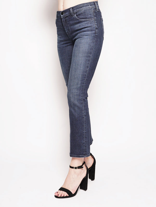 SELENA MID-RISE CROP BOOT Denim-Jeans-J BRAND-TRYME Shop