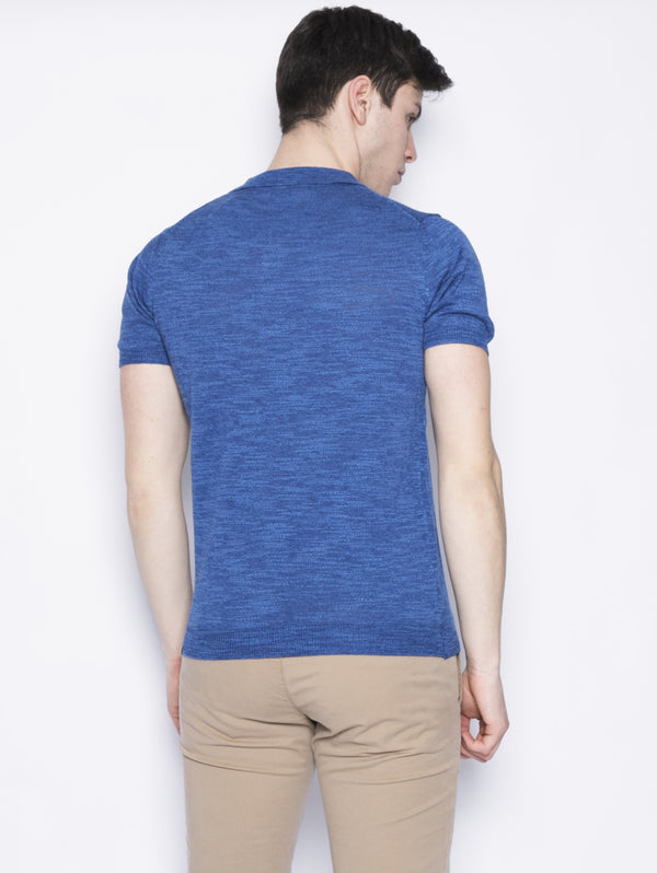 Polo in misto cotone Royal-Maglieria-MANUEL RITZ-TRYME Shop