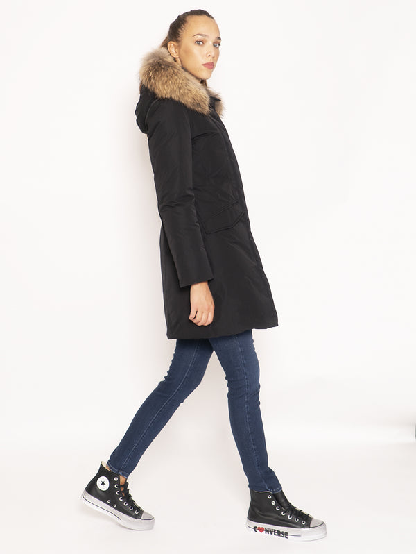 Cappotto in City Fabric - Nero