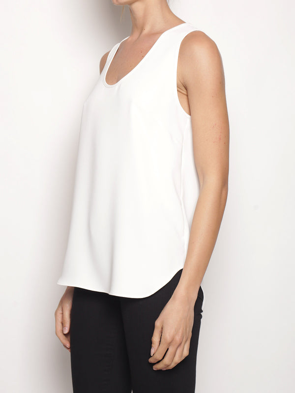 Top basico D310270 PANTERAX Bianco-Top-P.A.R.O.S.H.-TRYME Shop