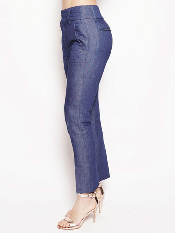 dondup Pantalone Chic in chambry vita alta Denim Trymeshop.it