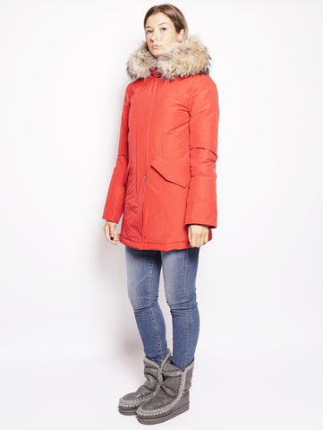 WOOLRICH W'S Arctic Parka Rosso Trymeshop.it