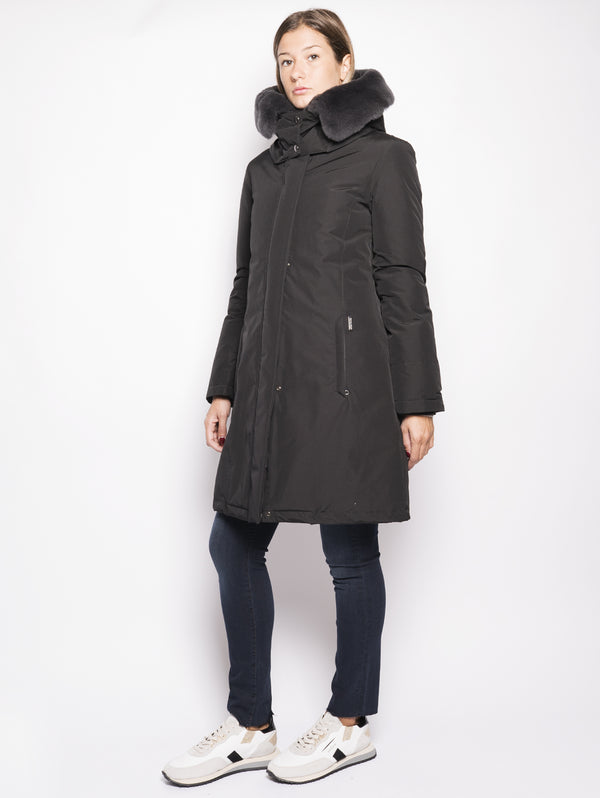 W'S BOW BRIDGE COAT Nero-Cappotto-WOOLRICH-TRYME Shop