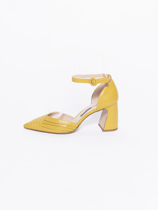 Decollete in pelle con tacco largo Curry-Scarpe-CHIARINI-TRYME Shop
