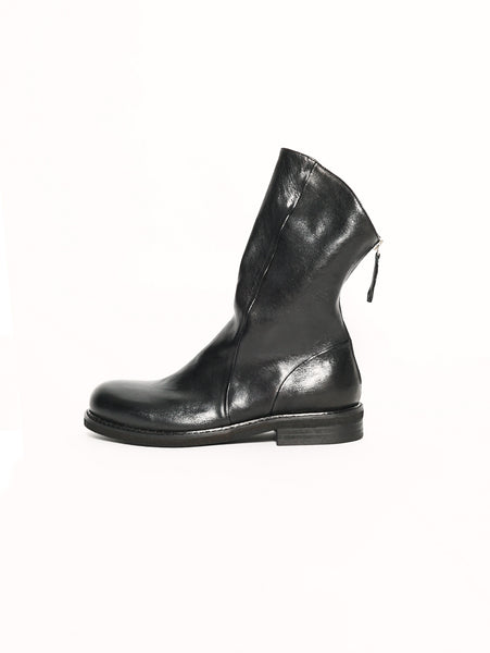 Stivaletto in pelle - 588 WEST NERO FORMA SPENCER Nero Chiarini Bologna TRYMEShop