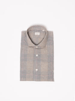 XACUS-Camicia Principe di Galles - 722ML 51307 Multicolor-TRYME Shop