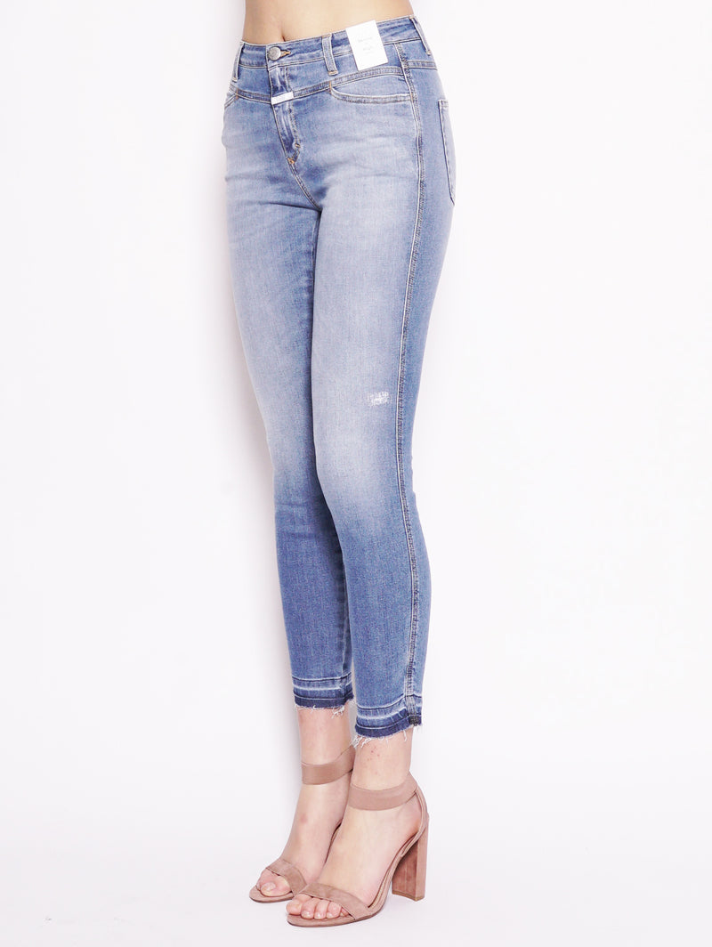 Skinny Pusher High Waist Denim-Jeans-CLOSED-TRYME Shop