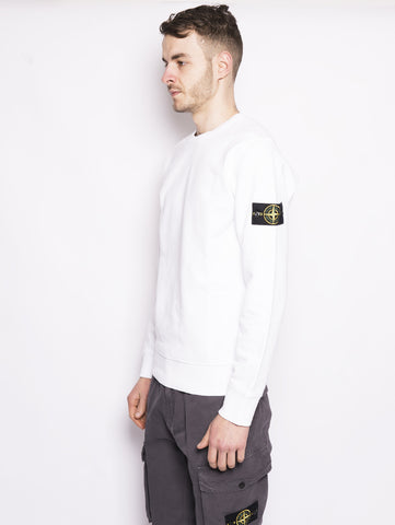 STONE ISLAND 62751 - Felpa girocollo Bianco Trymeshop.it