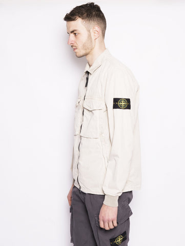 STONE ISLAND 130WN TINTO 'OLD' Panna Trymeshop.it