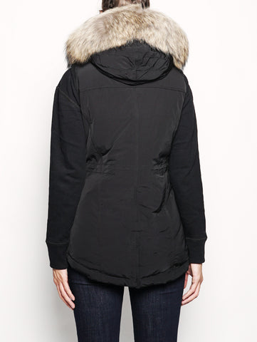 WOOLRICH W'S MILITARY PARKA Nero Trymeshop.it