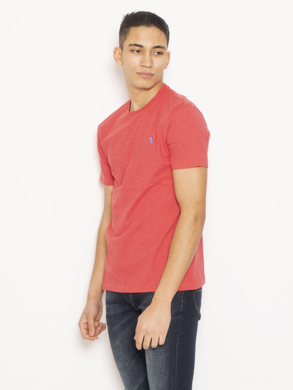 T-Shirt in Cotone Rosso