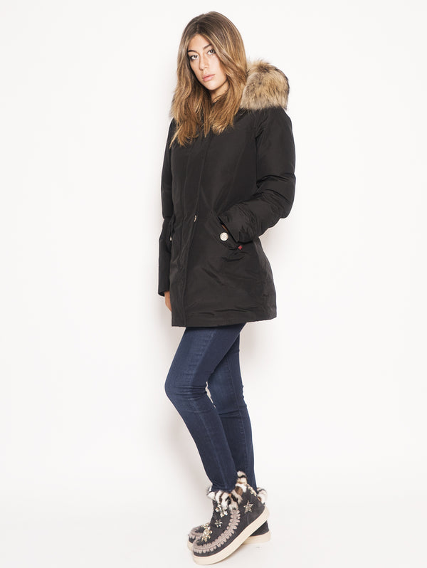 WOOLRICH-Parka Arctic in Ramar Nero-TRYME Shop