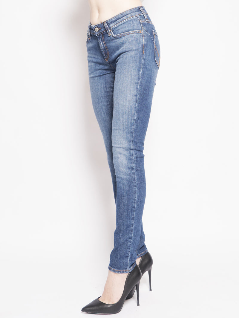Jeans Push Up Stretch Nicol Blu