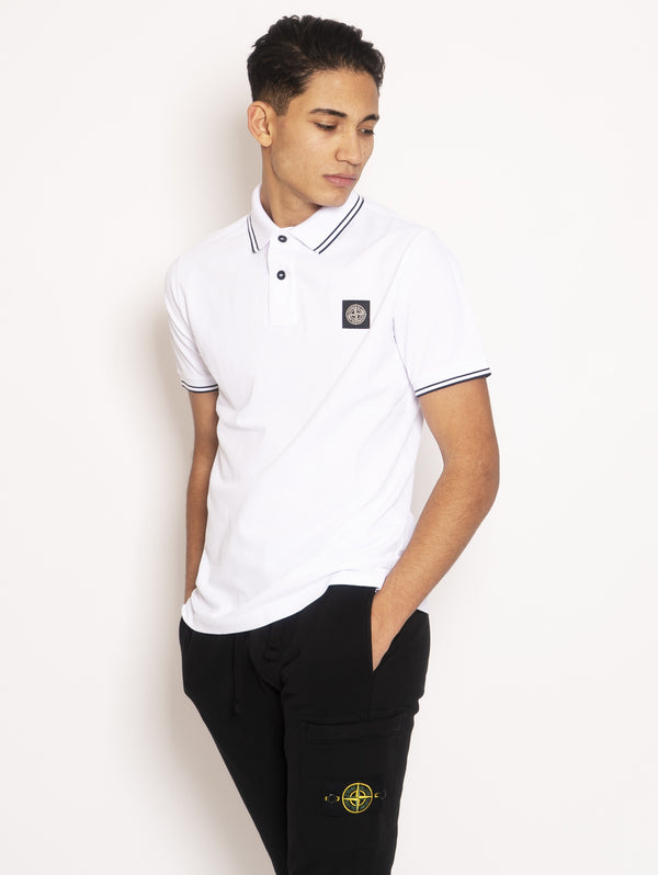 Polo Slim Fit Bianco