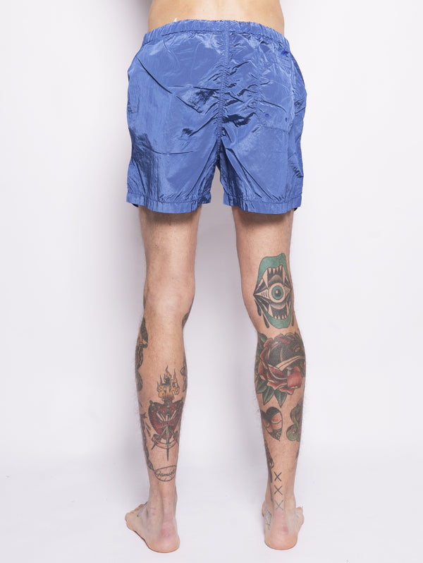B0643 SHORTS MARE IN NYLON Blu-Costumi-STONE ISLAND-TRYME Shop