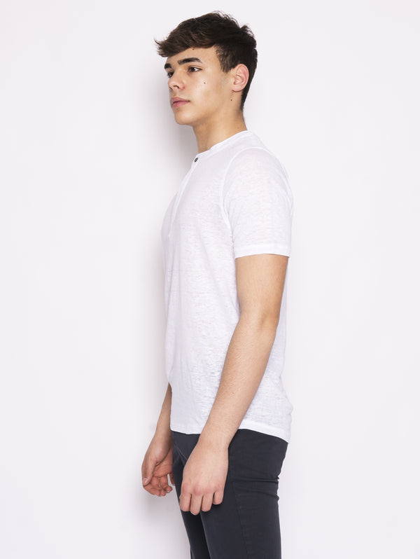 White Seraph Neck Sweater