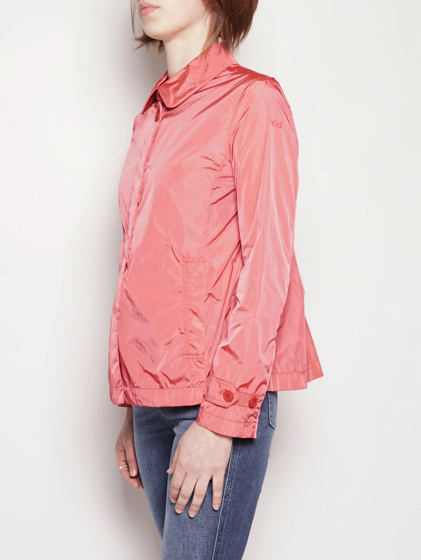 Giacca in taffetà  - JAW123 Rosso-Jacket-Add-TRYME Shop