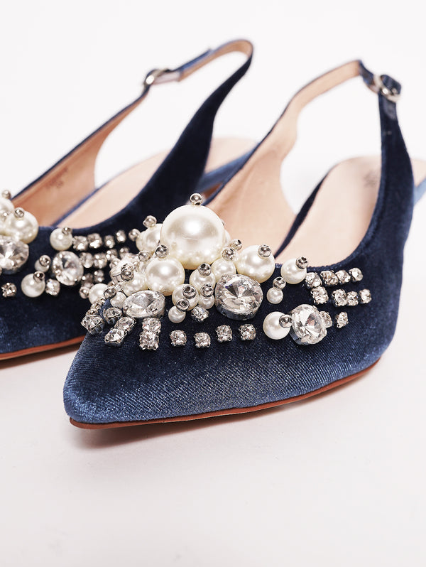 Décolleté - PASTIS PUMP WITH PEARLS Polvere-Scarpe-ESSENTIEL-TRYME Shop
