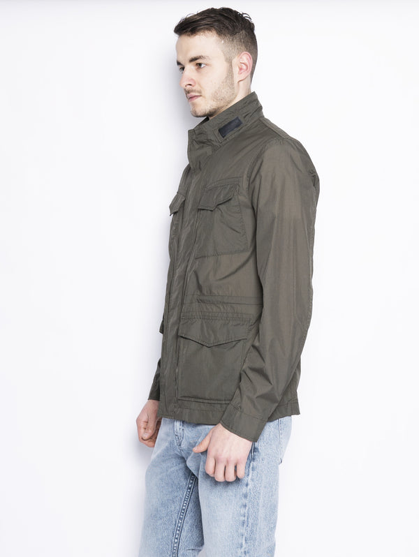 Light Travel Jkt - Field Jacket Verde-Jacket-WOOLRICH-TRYME Shop