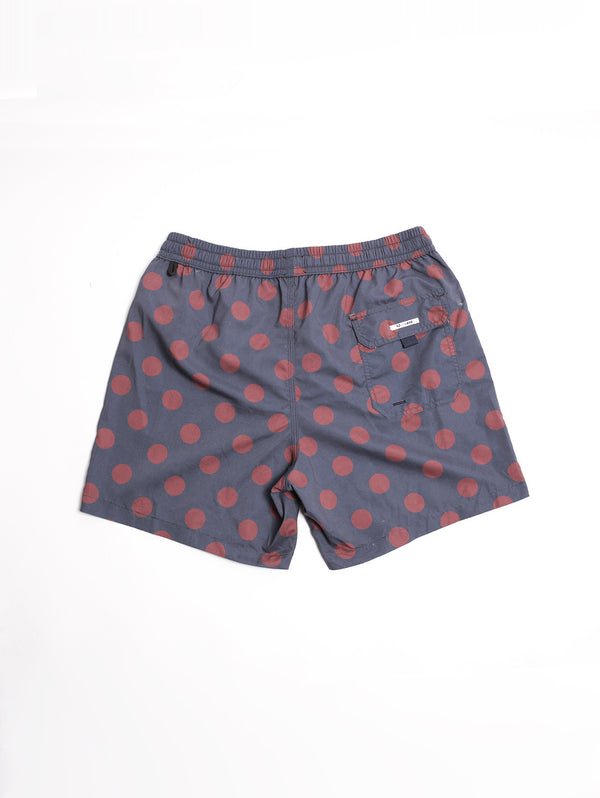 BOXER POIS Blue Navy/Burgundy-Costumi-in the box-TRYME Shop