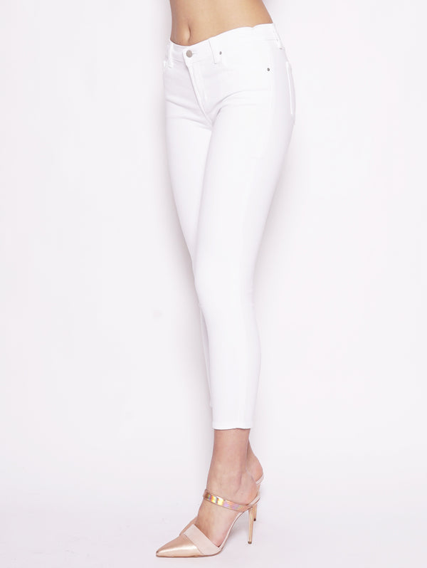 835 Mid Rise Crop Skinny Bianco-Jeans-J BRAND-TRYME Shop