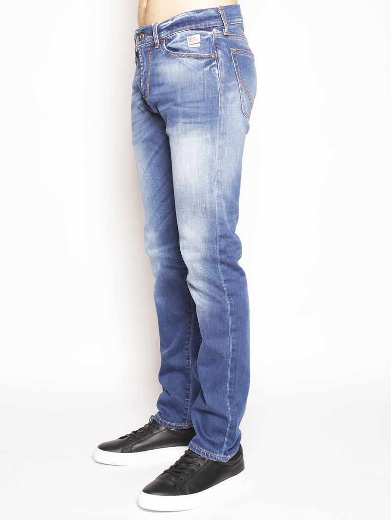 Jeans Cult Superior Denim Elast. Nocaine Denim medio-Jeans-ROY ROGERS-TRYME Shop