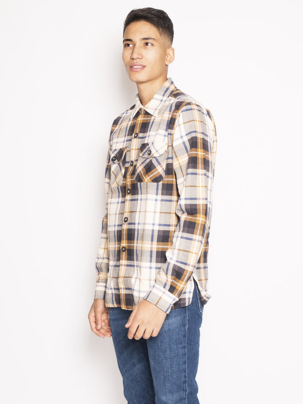 Shirt with Multicolor Check Pattern