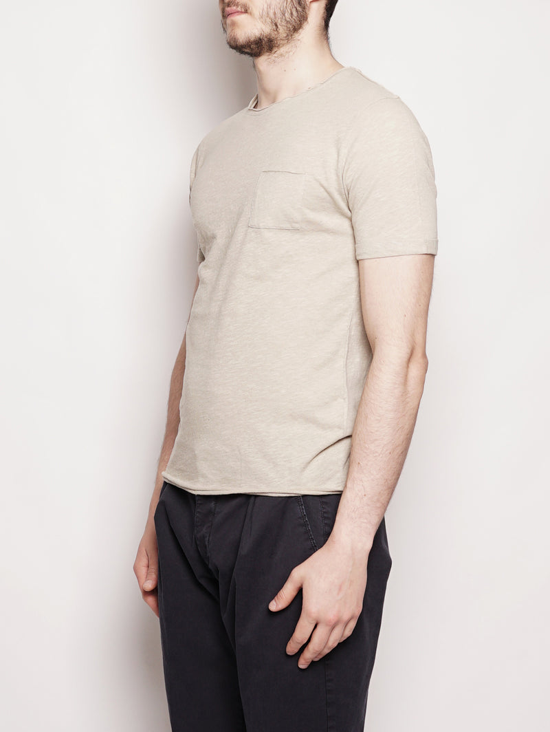 T-shirt in misto cotone Corda-T-shirt-Alpha Studio-TRYME Shop