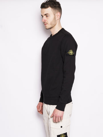 STONE ISLAND 62751 - Felpa girocollo Nero Trymeshop.it