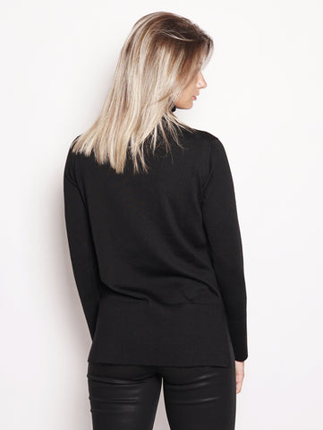 Alpha Studio Maglia collo alto - AD9008/G Nero Trymeshop.it