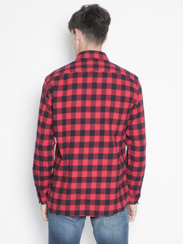 CLASSIC FLANNEL SHIRT Rosso