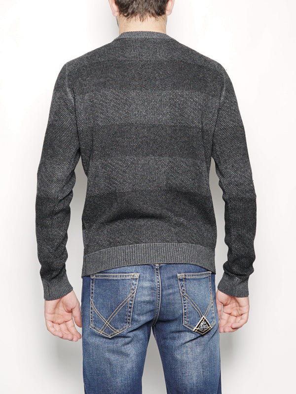 BUFFALO CREW NECK Nero-Maglieria-WOOLRICH-TRYME Shop