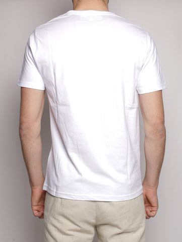 T-shirt Pocket Tape DeLux Jersey Bianco