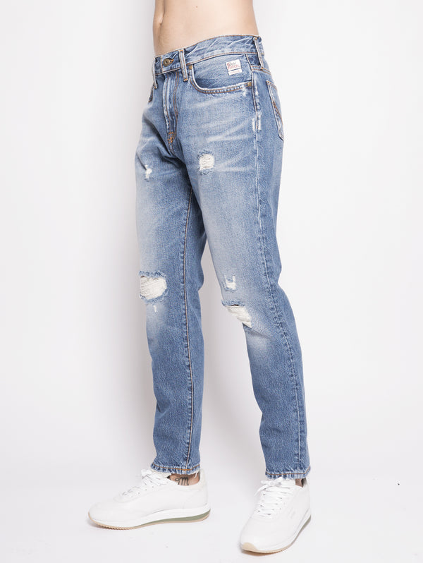 Funnel Superiore Denim Axel Denim-Pantaloni-ROY ROGERS-TRYME Shop