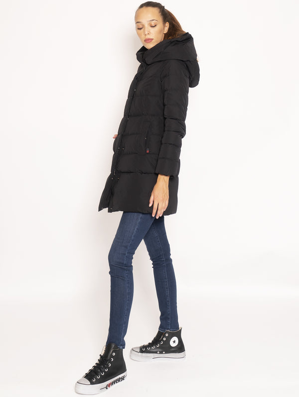 Giaccone Parka in City Fabric - Nero