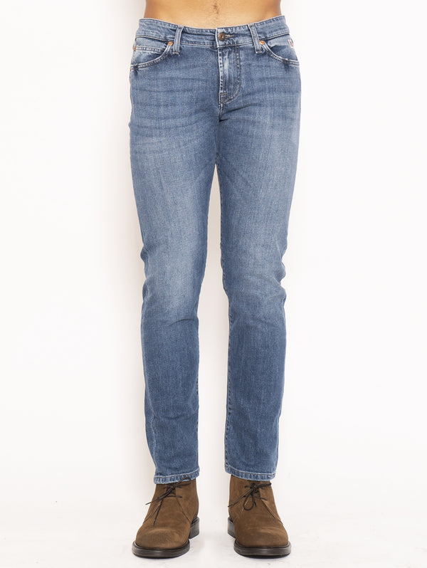 ROY ROGERS-Jeans Slim Fit - Blu-TRYME Shop