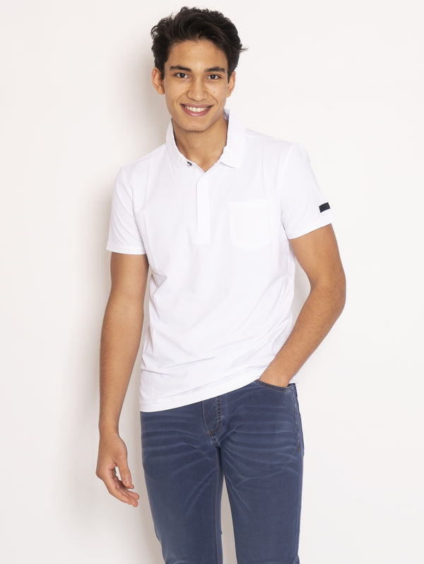 RRD-Polo Oxford - Bianco-TRYME Shop