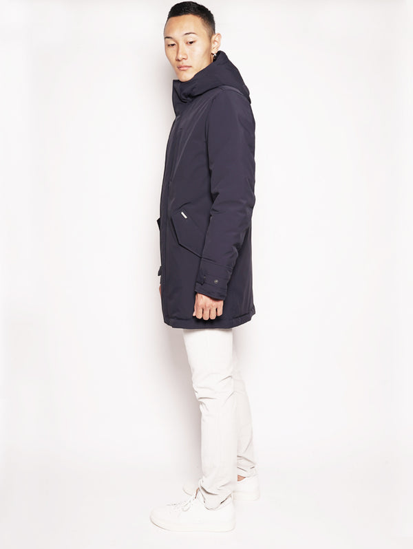 STRETCH MILITARY PA Blu-Parka-WOOLRICH-TRYME Shop