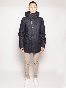 WOOLRICH-Parka in Storm System Blu-TRYME Shop
