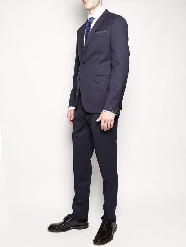 Abito slim fit in lana Blu-Completi-PAOLONI-TRYME Shop